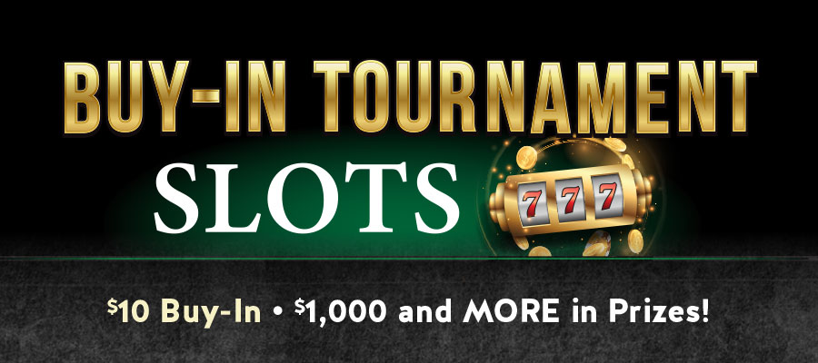 Buy-In Slot Tournaments