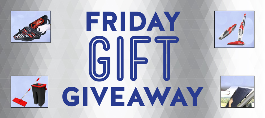 Friday Gift Giveaway
