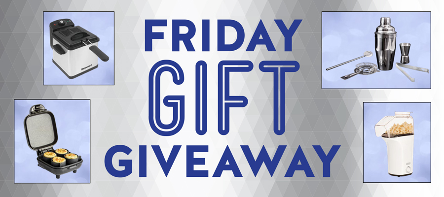 Friday Gift Giveaway - JUNE