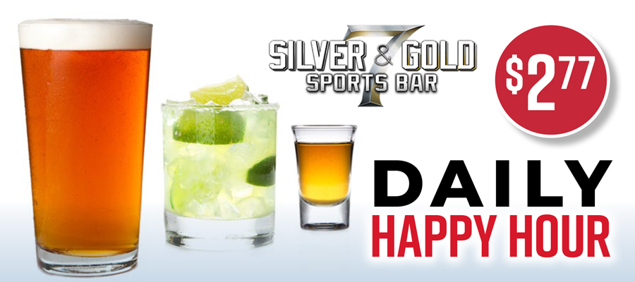 Daily Happy Hour - $2.77