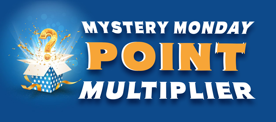 Mystery Monday Point Multiplier